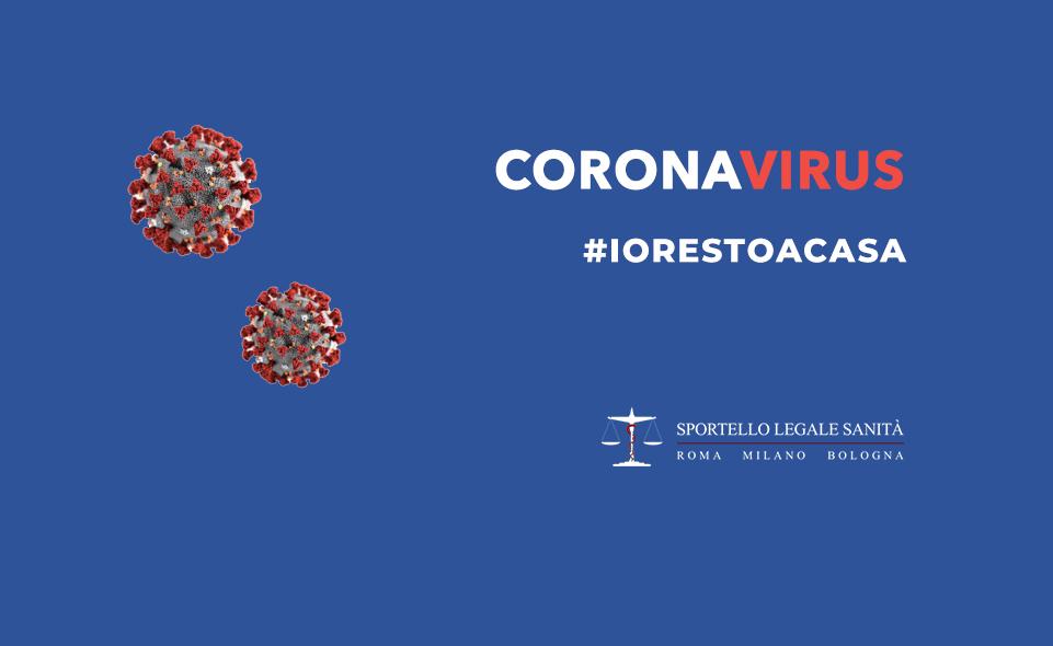 Coronavirus: #Iorestoacasa per il mio bene e quello degli altri